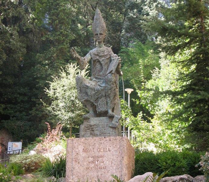 аббат Олиба в монастыре Монтсеррат