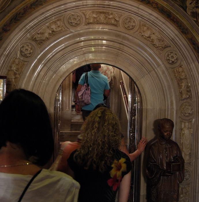 арка в монастыре Монтсеррат