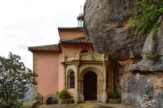 часовня в монастыре Монтсеррат