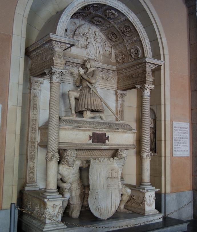гробница в монастыре Монтсеррат
