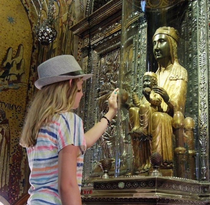 Святая Мария в монастыре Монтсеррат