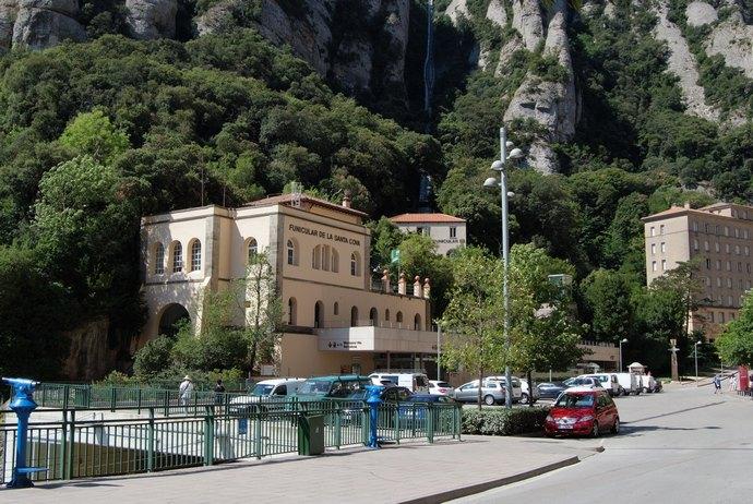 фуникулер в монастыре Монтсеррат