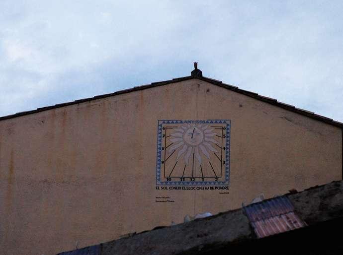 неизведанная Жирона: солнечные часы