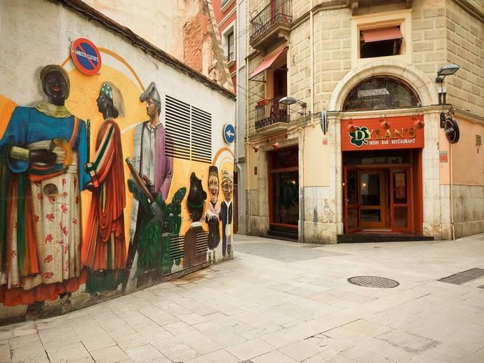 неизведанная Жирона: граффити