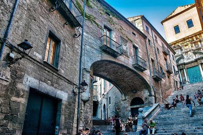 неизведанная Жирона: лестница Св. Мартина