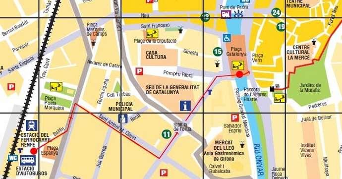 неизвестная Жирона: путь к площади Каталония
