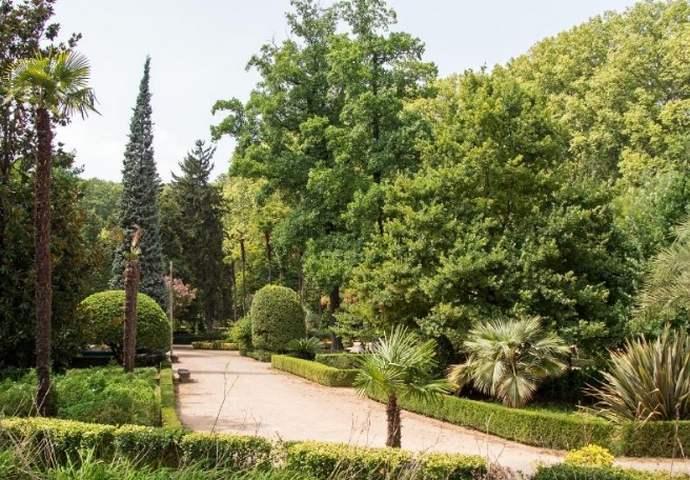 неизведанная Жирона: Ботанический сад в парке Де ла Давеса