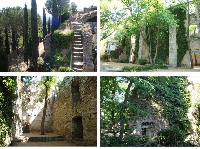 неизведанная Жирона: парк у крепостной стены
