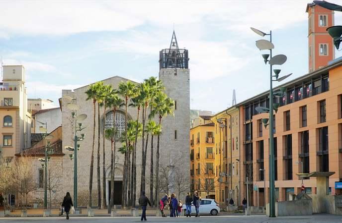 неизведанная Жирона: церковь Санта Сусанна