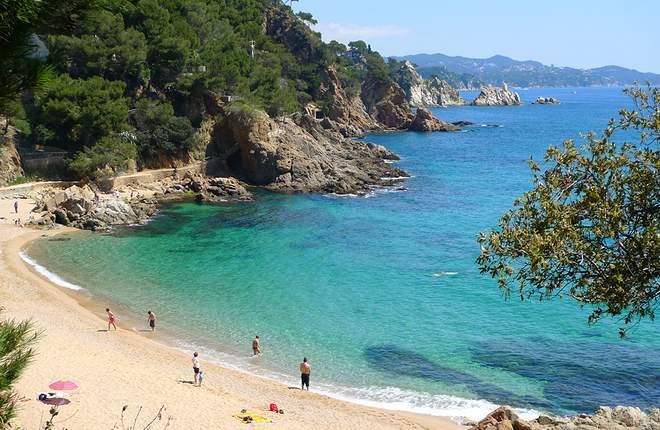пляжи Бланеса Sant Francesc