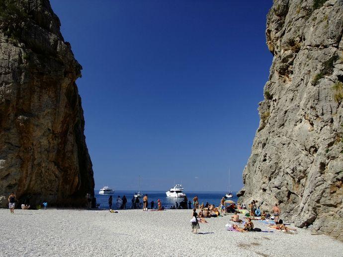 пляж Майорки Торрент де Прайс