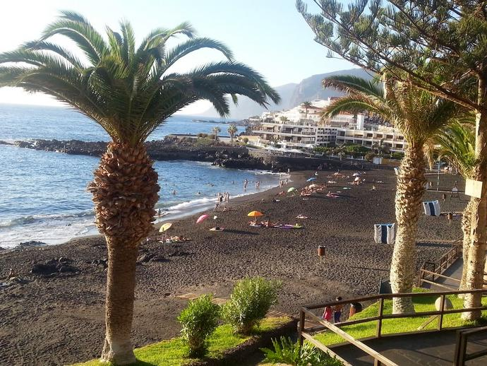 пляж Малаги Playа La Arana