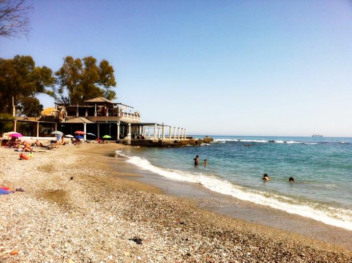пляж Малаги Playa Banos del Carmen