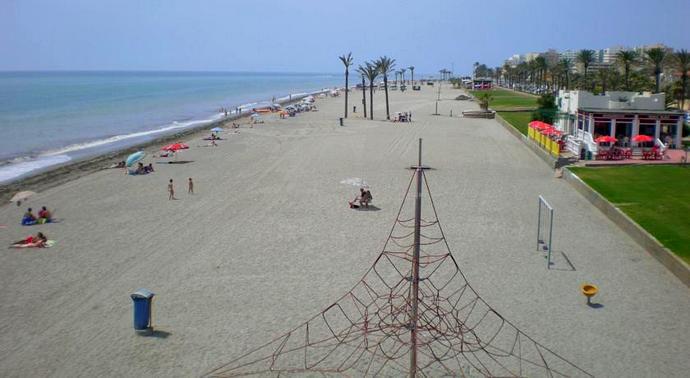 пляж Малаги Де Гольф