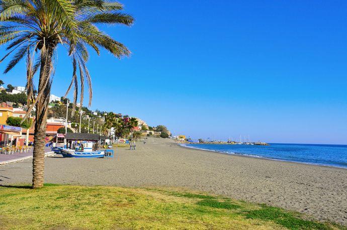 пляж Малаги Эль Пало