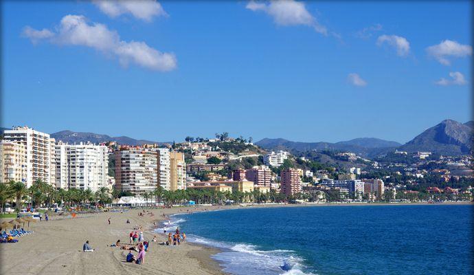 пляж де ла Мисерикордия в Малаге