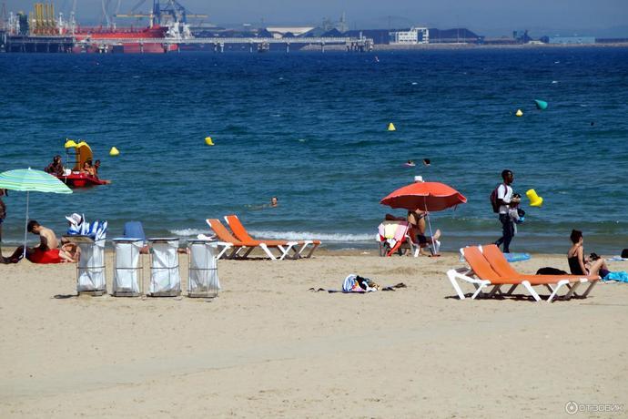 пляж Плайя де Сан Андрес в Малаге