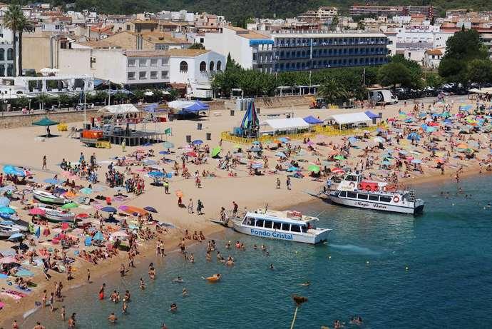 лучшие пляжи Tossa de Mar