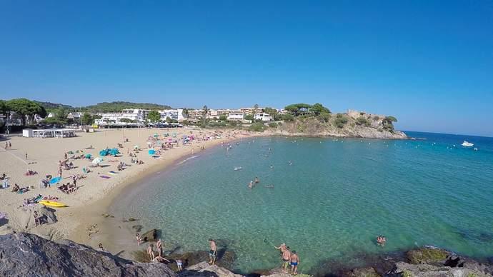 пляж La Fosca