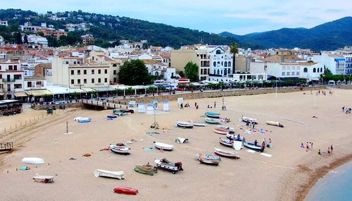 пляж Тосса-де-Мар