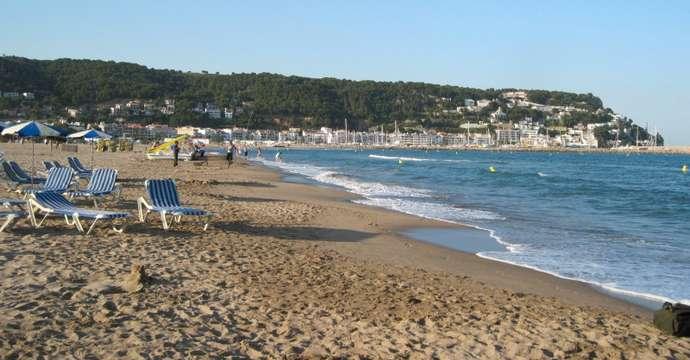 пляж в L'Estartit