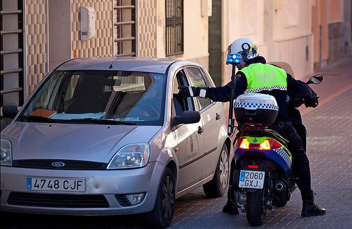 полиция в испании