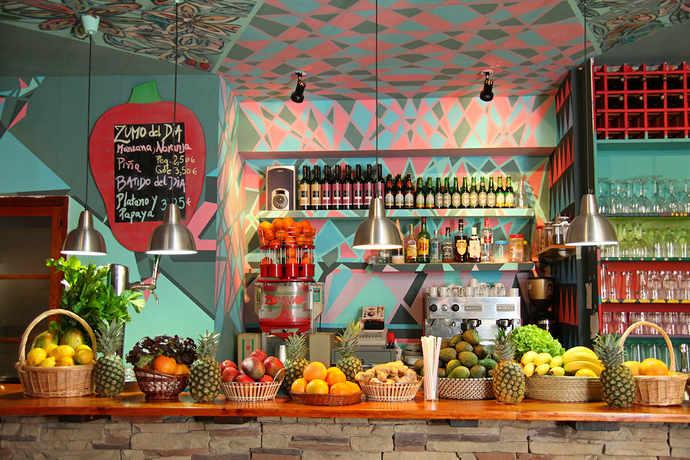 вегетарианские рестораны в барселоне