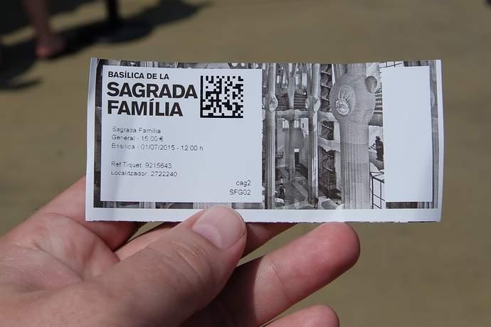 билеты в Саграда Фамилия