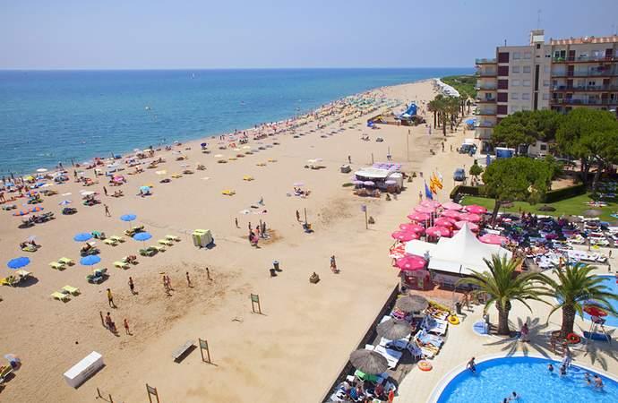 пляжи Санта Сусанна Испания