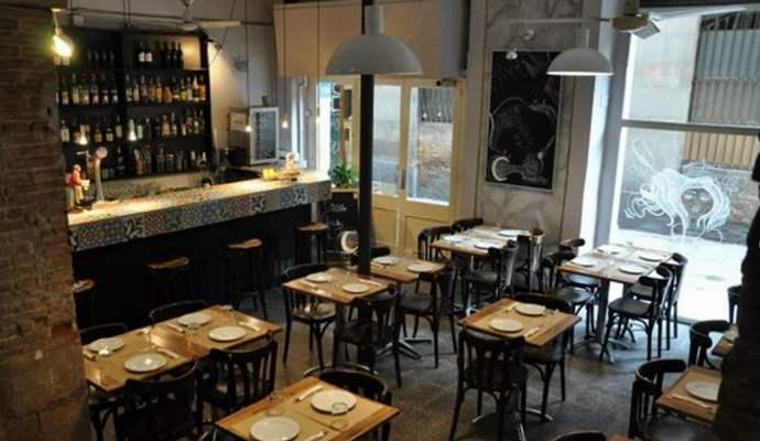 шопинг и рестораны Готического квартала Барселоны