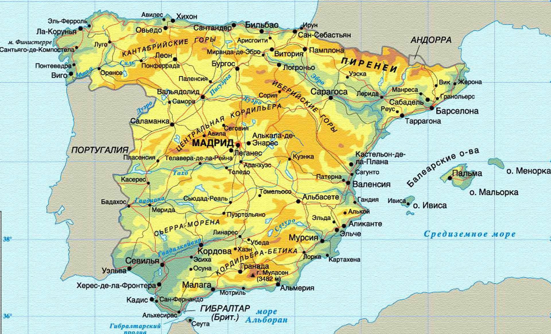 Климат и погода Испании по месяцам: когда лучше отдыхать в Испании