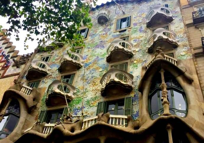 достопримечательности Старого города в Барселоне